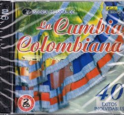 CD TROPICAL HISTORIA MUSICAL DE LA CUMBIA COLOMBIANA