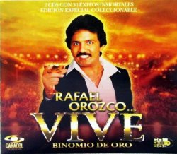 CD VALLENATO RAFAEL OROZCO VIVE