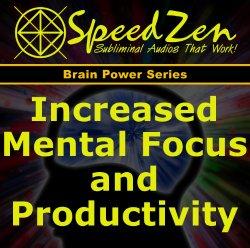 Improved Mental Focus & Productivity: Subliminal CD
