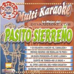 MultiKaraoke OKE-0268 Pasito Sierreno