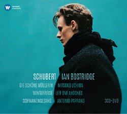 Schubert: Die Schone Mullerin, Winterreise & Schwanengesang [3CDs + DVD]