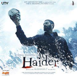 Haider – 2014 Bollywood Music Audio CD / Vishal Bhardwaj / Shahid Kapur