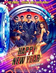 Happy New Year – 2014 Bollywood Music Audio CD / Shahrukh Khan / Deepika Padukone