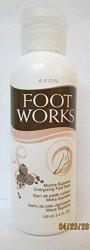 Avon Foot Works Mocha Supreme Energizing Foot Soak 3.4 fl. oz.