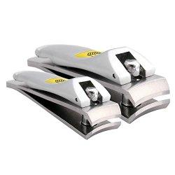 Klipit Nail Clipper Set – Fingernail + Toenail – Stainless Steel (HAR-003)