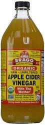 Bragg Organic Raw Unfiltered Apple Cider Vinegar 32 oz