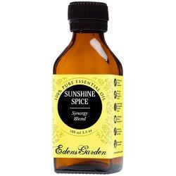 Sunshine Spice Synergy Blend Essential Oil by Edens Garden (Balsam, Camphor, Cinnamon Bark, Cinnamon Leaf, Eucalyptus and Sweet Orange)- 100 ml
