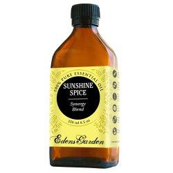 Sunshine Spice Synergy Blend Essential Oil by Edens Garden (Balsam, Camphor, Cinnamon Bark, Cinnamon Leaf, Eucalyptus and Sweet Orange)- 250 ml