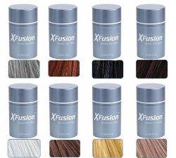 XFusion Keratin Hair Fibers Regular, Light Brown 12g/.42oz