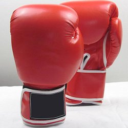 TR.OD Boxing Training Gloves?Protection Movement Training Boxing Gloves 14OZ-Red