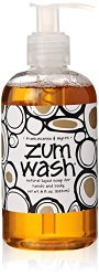 Indigo Wild Zum Wash Natural Hand & Body Liquid Soap, Frankincense & Myrrh, 8 Fluid Ounces