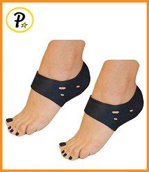Presadee® Neoprene Plantar Fasciitis Foot Arch Heel Breathable Air Support (Black)