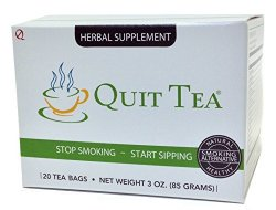 Quit Tea Natural Stop Smoking Aid 20 bags