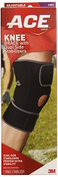 ACE Knee Brace with Dual Side Stabilizers