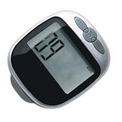 MiFX Multi-function Step Pedometer Large LCD Display Pedometer Walking Calorie Distance Counter (Black)