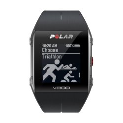 Polar V800 GPS Sports Watch with Heart Rate Monitor, Black