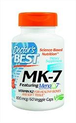 Doctor's Best MK-7 Supplement, 60 Count
