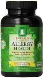 Emerald Laboratories Allergy Health Veg-Capsules, 120 Count