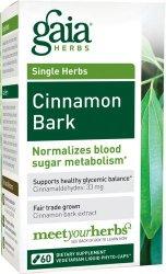 Gaia Herbs Cinnamon Bark, 60 Liquid Phyto-Capsules