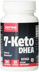 Jarrow Formulas 7-Keto DHEA, 100 mg, 30 Count