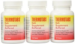 PACK OF 3 EACH THERMOTABS BUFFERED SALT TAB 100TB PT#38485086335