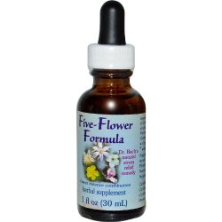 FLOWER ESSENCE SERVICES, Five-Flower Formula Dropper – 1 oz