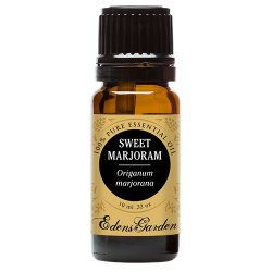Sweet Marjoram 100% Pure Therapeutic Grade Essential Oil by Edens Garden- 10 ml
