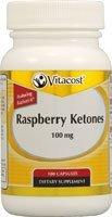 Vitacost Raspberry Ketones Featuring Razberi-K — 100 mg – 100 Capsules