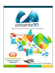 Presente3D v.1 – Turn your Microsoft PowerPoint Presentations into 3D [Download]
