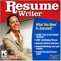 RESUME WRITER (BY IMSI)