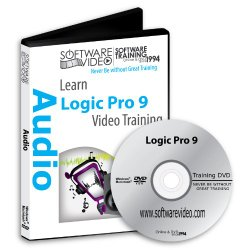 Software Video Learn Logic Pro 9 Training DVD Sale 50% Off training video tutorials DVD- Over 24 Hours of Video Training