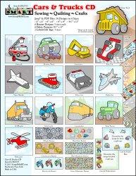 ScrapSMART – Cars & Trucks – Clip Art Software Collection – Jpeg & PDF files [Download]