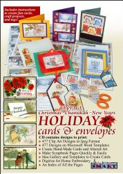 ScrapSMART – Vintage Christmas, Chanukah, and New Years Holiday Cards & Envelopes Software [Download]