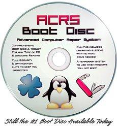 ACRS Boot Password Reset & Diagnostic Toolkit CD Disc for Windows XP, Vista, 7, 8, 10