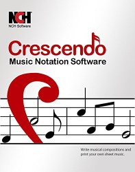 Crescendo Music Notation Software [Download]