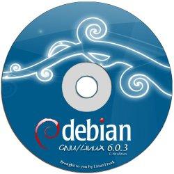 Debian 6.0.4 Full DVD Disc [32 BIT DVD] – Latest Version Squeeze