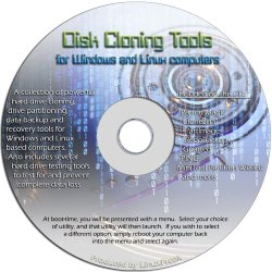 Disk Drive Cloning Tools on CD – Hard Drive Backup and Imaging Tools for the PC