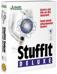 DLX7BX – STUFFIT DELUXE 7.0 COMP/DECOMP SOFTWARE FOR MAC