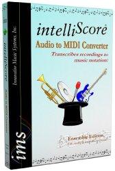 Innovative Music Systems intelliScore Audio to MIDI Converter Ensemble Edition