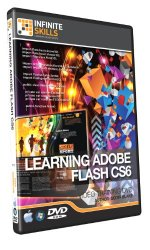 Learning Adobe Flash CS6 – Training DVD – Tutorial Video