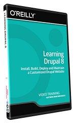 Learning Drupal 8 – Training DVD