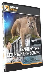 Learning OS X Mountain Lion Server – Training DVD