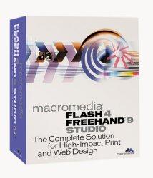 Macromedia Flash 4 Freehand 9 Studio for Mac