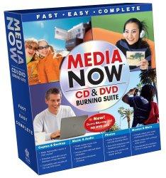 Media Now CD & DVD Burning Suite