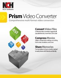 Prism Video Converter Software – Convert Between AVI MP4 MOV and Other Formats [Download]