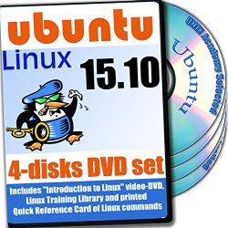 Ubuntu 15.10, 4-discs DVD Installation and Reference Set