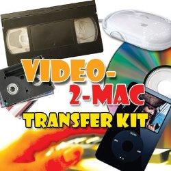 VHS & Camcorder Video Capture Kit For Mac OSX
