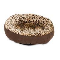 Aspen Pet Round Bed Animal Print – 18″
