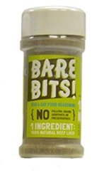 Bare Bits! 100% All Natural Tasty Beef Liver Food Topping for Dogs and Cats – 3.5 Ounces