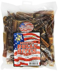 Best Buy Bones – USA Made Bully Bites, 1-Pound Bag – Healthy Pet Chews for Dogs